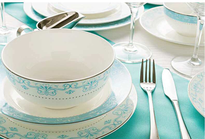 dinnerset_light_blue bone_china_dinnerware bone_china_dinnerset_light_blue_size_info & Bone china dinnerware set - Light Blue- Bone china product exporter