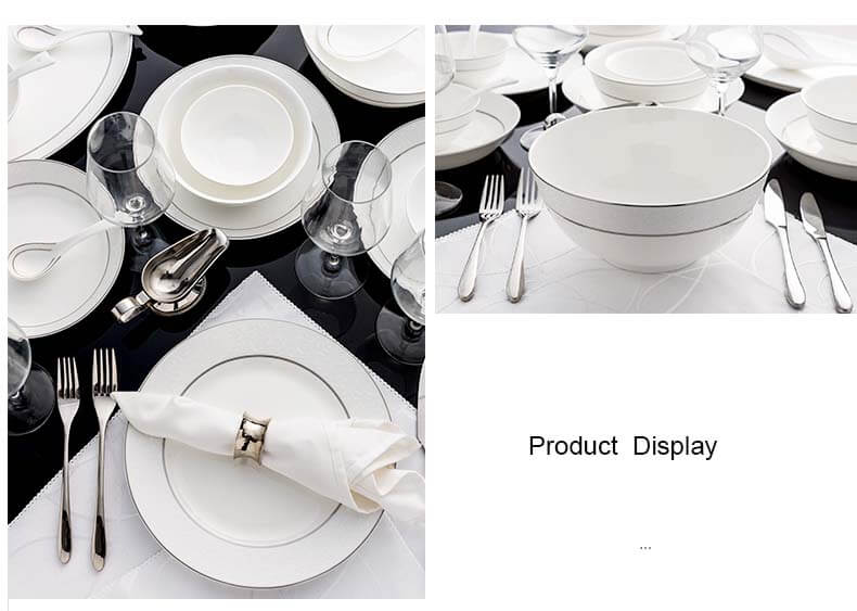 high quality bone china plate display detailed picture of bowls and plates ...  sc 1 st  What is Bone China? & Bone China Dinnerware Set - Barcelona - Bone China Products Supplier