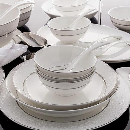 & Bone China Dinnerware Set - Barcelona - Bone China Products Supplier