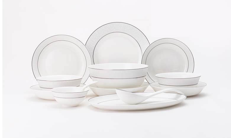 ... plates whole view of bone china dinner set ...  sc 1 st  What is Bone China? & Bone China Dinnerware Set - Barcelona - Bone China Products Supplier