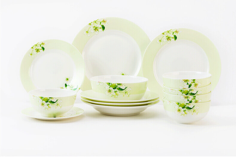 ... whole set display of spring style dinner sets ... : spring dinnerware - pezcame.com