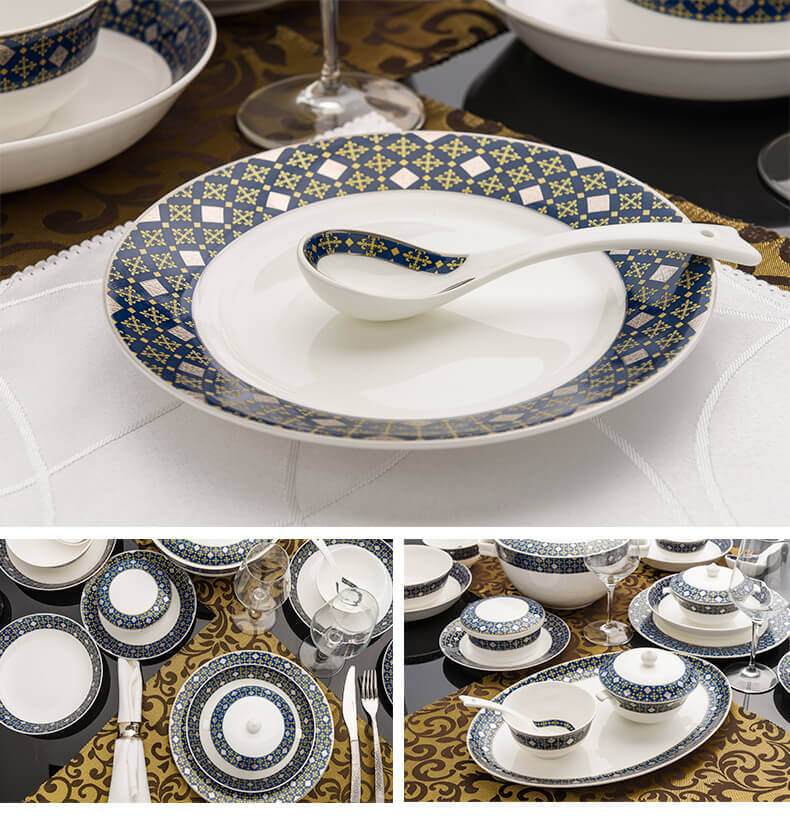 bone china dinnerware set ... & Bone China Dinnerware Set - Prague - Bone China Dinnerware Supplier
