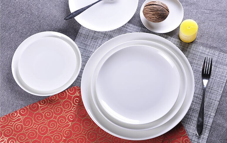 ... White bone china plates coupe dinner plate 10.5 inch ... & White Bone china Plates Coupe Plate Wholesale