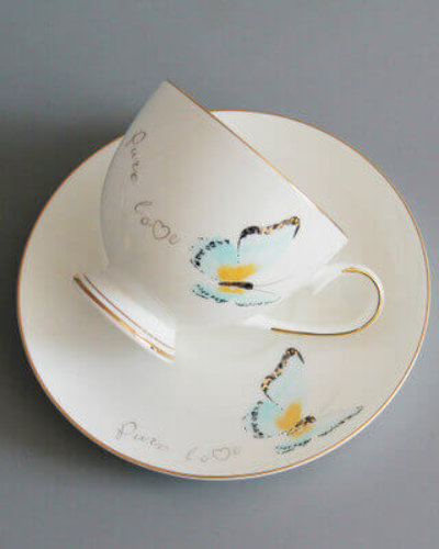 Bone china cup and saucer - Professional bone china product exporter
